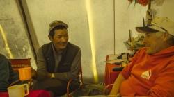 Russell Brice with Phurba Tashi