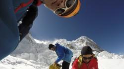 Sherpa team resting