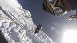 Sherpas climbing